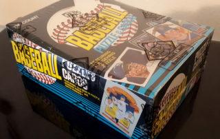 1985 Donruss Wax Box