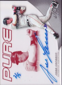 2014 Leaf Q Pure Autograph Red #PJC2 /5
