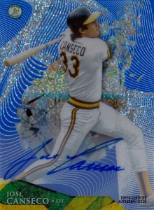 2014 Topps High Tek Wave Blue Autographs Dots Diffractor #HTJC /5