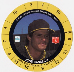 1988 Cadaco Ellis Disc (no team / league on back)