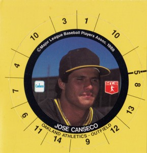 1988 Cadaco Ellis Disc Square (no team / league on back)