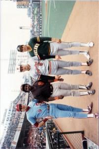 1986 MLB Japan All-Star Series Original Photo