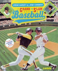 1987 Grand Slam Baseball Computer Game