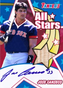 2005 Bazooka All Star Bat Autograph Custom