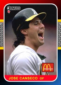1987 Donruss McDonalds Custom