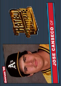 1986 Donruss #39 Gold Rated Rookie Custom