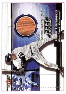 2001 Fleer Feel the Game Prototype Paper Proof Front 1/1