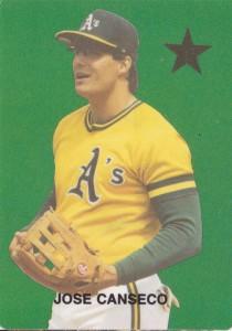 1987 Major League Superstars Unlicensed Broder