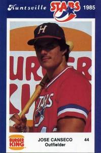 1985 Burger King Huntsville Stars Jennings