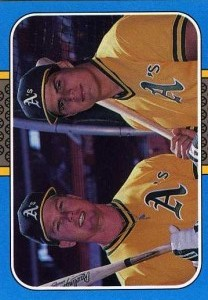 1987 Donruss Highlights w/McGwire