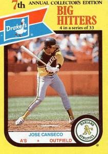 1987 Drake's Big Hitters