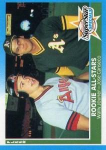 1987 Fleer #628 Glossy w/Joyner