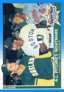 1987 Fleer #633 w/Rice & Puckett
