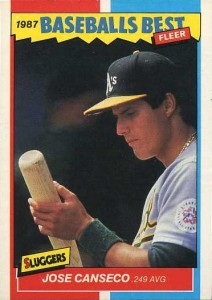 1987 Fleer Baseball's Best Sluggers Vs. Pitchers