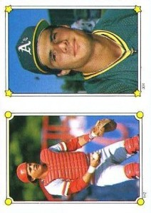 1987 Topps Sticker #304 Made in Italy
