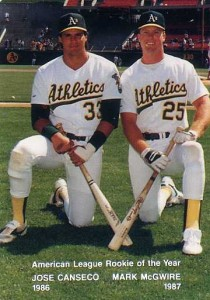 1988 Mother's Cookies w/McGwire