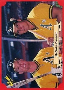 1988 Classic Red w/McGwire