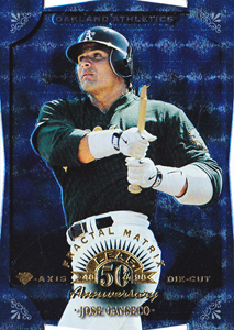 1998 Donruss #109 Leaf Fractal Matrix Diamond Axis Die Cut /50