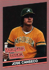 1986 Donruss Style Minor League Legend Unlicensed Broder Type