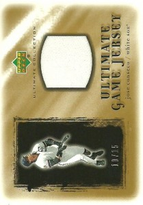 2001 Ultimate Collection Game Jersey Gold /15
