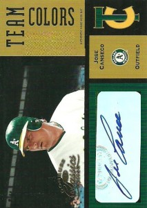 2004 Donruss Classics Team Colors Signatures #11 /5