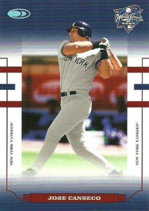 2004 Donruss World Series Blue HoloFoil 10 #26 Yanks /10