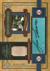 2004 Timeless Treasures Home Run Materials Bat/Autograph /9