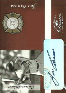 2005 Donruss Classics Home Run Heroes Signature /5