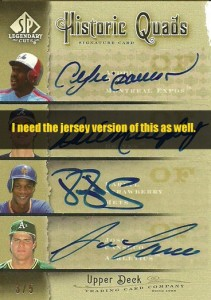 2005 SP Legendary Cuts Historic Quads Jersey /5