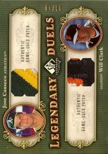 2005 SP Legendary Cuts Legendary Duels Patch /10