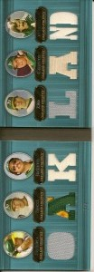 2007 Topps Triple Threads Relics Combos Sapphire /3