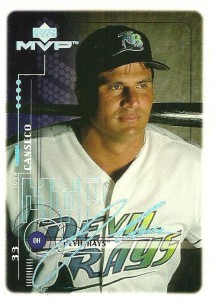 1999 Upper Deck MVP Super Script /25